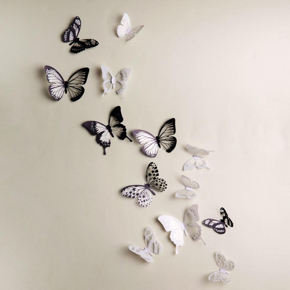 Decoration Papillon Murale Murale Deco Idee Original Fille Chambre