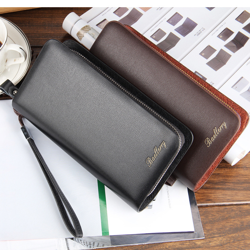 Casual Men Wallets Famous Brand Genuine Leather Mens Wallet Male Money Purse Cowhide Wallet For Men Matte Short Design in Wallets from Luggage Bags