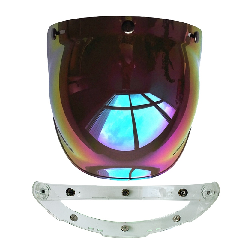(1pc & 5colors) 100% Originele Motorhelm Vizier Shield Retro Hallar - Motoraccessoires en onderdelen - Foto 3