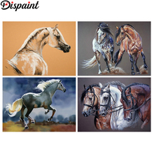 Dispaint Full Square/Round Drill 5D DIY Diamond Painting Animal horse landscape 3D Embroidery Cross Stitch Home Decor Gift