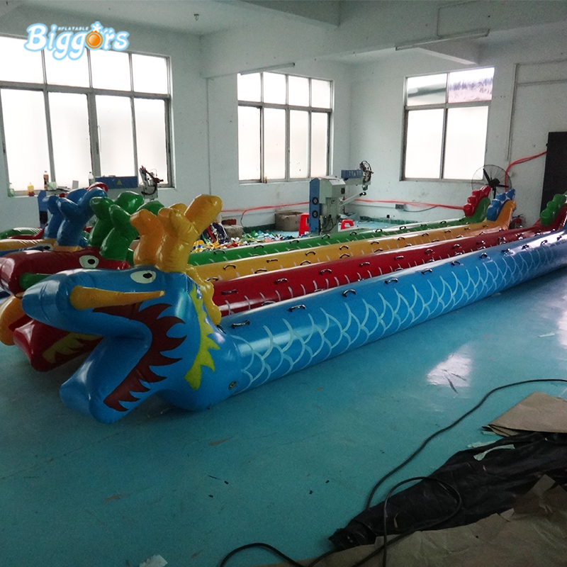 PVC material inflatable dragon boat for sale