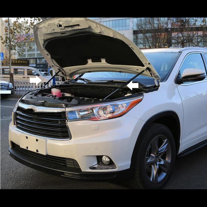Pour Toyota highlander 2015-2017 accessoires Automobile capot automatique de levage hydraulique de jambe bars voiture capot moteur