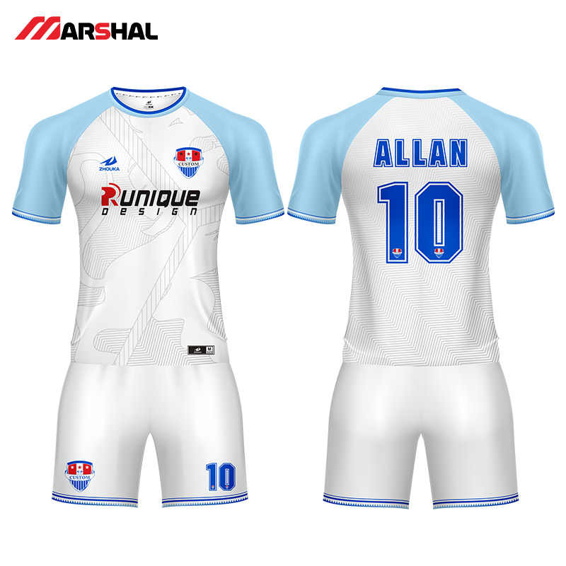 81d63c5d801 Customized team practice soccer uniforms sports jersey youth football kits  outfits design any logos numbers