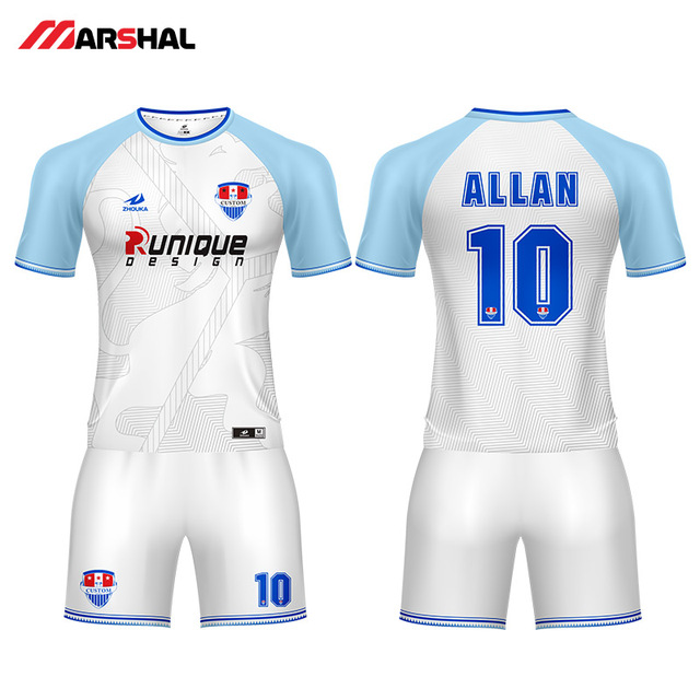 18126fa7534 Customized team practice soccer uniforms sports jersey youth football kits  outfits design any logos numbers
