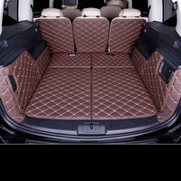 Custom 3D Waterproof Boot Carpets Non Slip Car Trunk Mats for Volkswagen Sharan 7seats