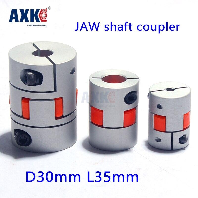 Rodamientos Axk 4pcs Jaw Shaft Coupler Coupling 5, 6, 6.35, 7,8,9,9.525,10,12,12.7,1/2,14, 15, 16 Mm Stepper Motor 3d Printer 50pcs lot 3d printer stepper motor flexible coupling coupler shaft coupling 5mm 8mm 25mm 5 5mm flexible shaft