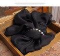100% Шелк Повязка большой пляж шарфы женщина Осень зима чистого шелка квадратный кулон роскошные дизайнер Шарф хиджабы длинные шарфы