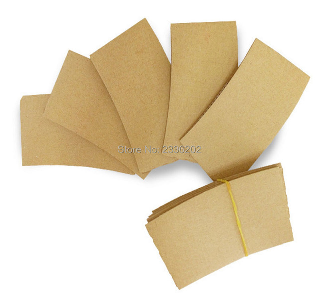 craft corrugated paper sleeves for 12oz 16oz paper cup cover craft