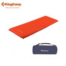 KingCamp Портативный коврик Deluxe Одноместный Самонадувающийся коврик для кемпинга лагерь