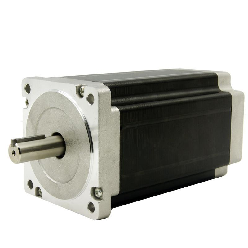 цена на CNC Nema 34 stepper motor with 12N.m(1715oz-in), 4.2A, 4wires, shaft diameter 14mm, 156mm motor length PALSMA,CE,ROHS,ISO
