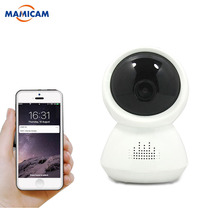 hot deal buy home security surveillance snowman panoramic wifi ip camera 180 degree view night vision mini wireless camera baby monitor