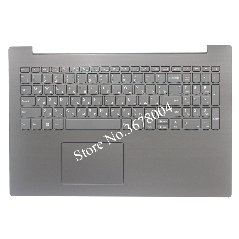NEW Russian keyboard FOR Lenovo IdeaPad 320-15IAP 320-15AST 320-15IKB RU keyboard with black Palmrest COVER ynmiwei for miix 320 leather case full body protect cover for lenovo ideapad miix 320 10 1 tablet pc keyboard cover case film