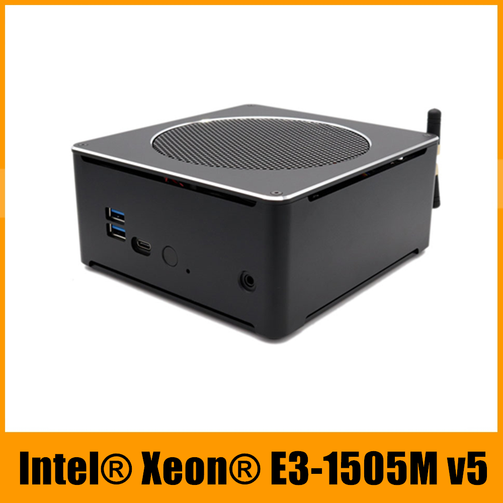 Mini PC Intel Xeon E3 1505M v5 4core 8 fils 2.80 GHz serveur ordinateur Barebone Win10 Pro 16GB DDR3L ca Wifi 4K Mini DP HDMI-in Mini PC from Ordinateur et bureautique on AliExpress - 11.11_Double 11_Singles' Day 1