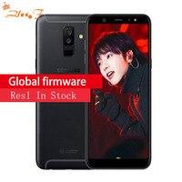 Samsung Galaxy A9 A6058 мобильный телефон 4 GB Оперативная память 64 Гб Встроенная память Android 8,0 Dual сзади отпечаток пальца камеры телефон оригинальный