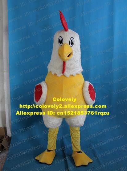 Hahn Gamecock Spiel Geflügel Fighting Cock Henne Huhn Chook Maskottchen Kostüm Erwachsene Waren Straße Studenten Aktivität zz6429