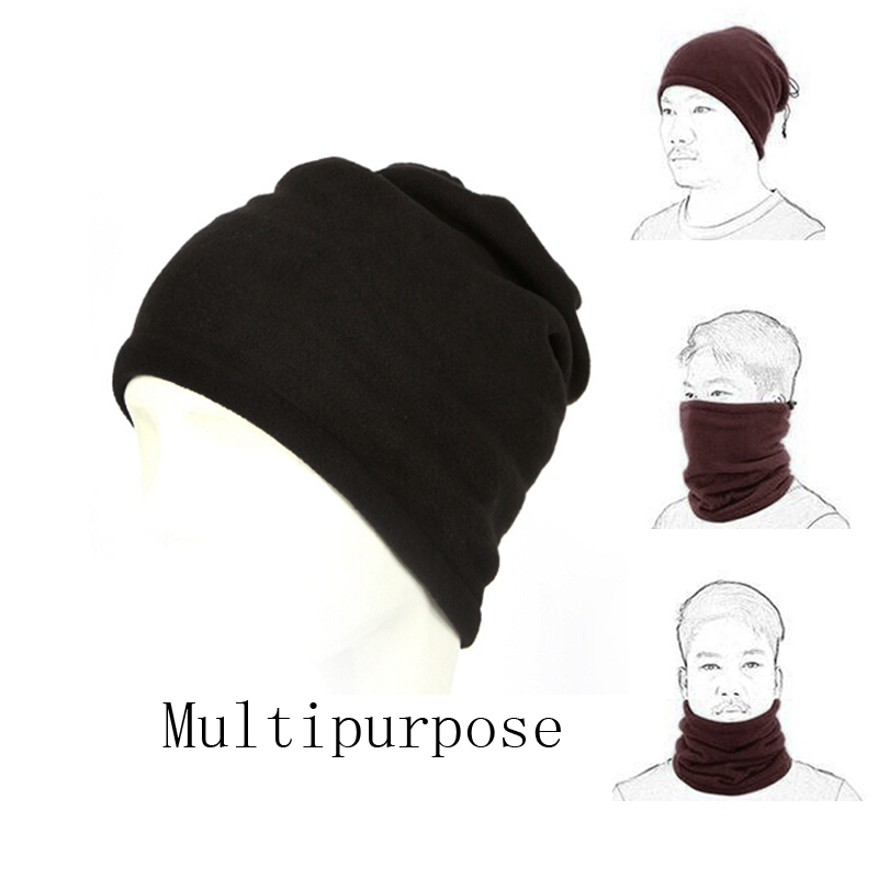 Sunny Winter Thicken Cycling Scarf Neck Warmer Face Mask For Men Women Hat Snood Windproof Ski Headgear Bonnet Apparel Accessories