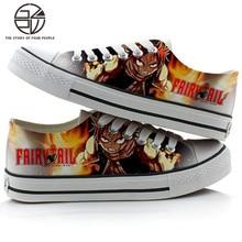 Fairy Tail Men Women Canvas Shoes