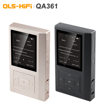 QLS QA361 HiFi เสียง DSD hard รหัสเครื่องเล่นเพลง MP3 Dual Femtosecond นาฬิกา AK4495SEQ DAC ชิป 6 * OPA1622 3800 mAH
