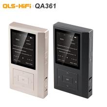 QLS reproductor de música QLS QA361 HiFi sin pérdidas, sonido puro DSD, código duro, MP3, reloj AK4495SEQ femtosegundo Dual, chips DAC 6 * OPA1622 3800mAH