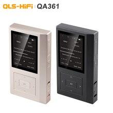 Qls qa361 hifi 무손실 순수 사운드 dsd 하드 코드 음악 플레이어 mp3 듀얼 femtosecond 시계 ak4495seq dac 칩 6 * opa1622 3800 mah