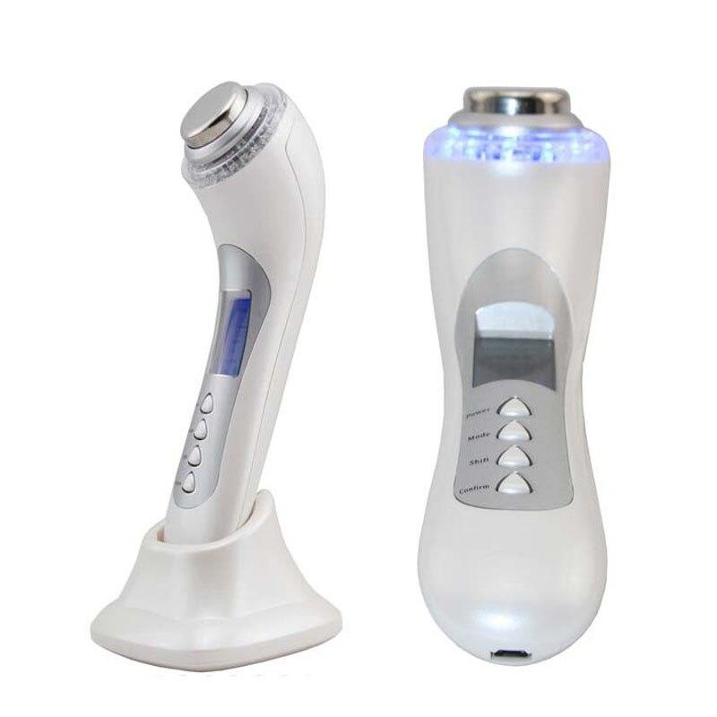 Galvanic Microcurrent Lifting Spa Face Pores Cleanser Ultrasonic Galvanic Ion  Photon Skin Rejuvenation Anti Acne Beauty Machine