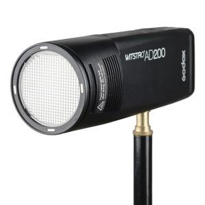 Image 3 - Godox AD200 ชุดคู่มือแฟลช Strobe 1/8000 HSS ไร้สาย Monolight 2900 mAh Lithimu แบตเตอรี่และหลอดไฟ Trigger ชุดอุปกรณ์เสริม