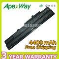 Apexway 4400 mah 11.1 v batería del ordenador portátil para msi bty-s11 bty-s12 wind u100-002la ms-n011 u100 u210-006us u90 para adviento 4211 4489
