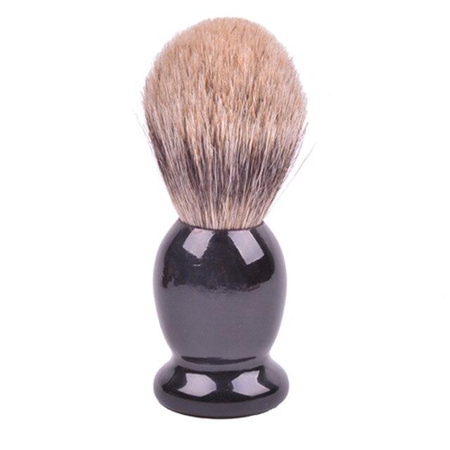 100% Pure Badger Кисточки для бритья с черной ручкой-спроектирован, чтобы доставить Best бритья вашей жизни!