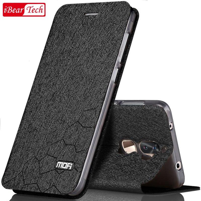 xiaomi mi 5s plus case flip capas leather silicon housing luxury crystal mofi xiomi mi mi5s