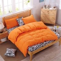 Hechizo de cebra cubierta juegos de cama edredón funda de almohada sábana tamaño full twin queen rey funda nórdica