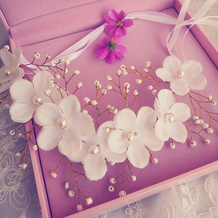 HTB1J2rPJpXXXXcBXXXXq6xXFXXX7 - Новое поступление цветочная жемчужная гирлянда для невесты свадебная цветочная корона повязка на волосы бесплатная доставка SL