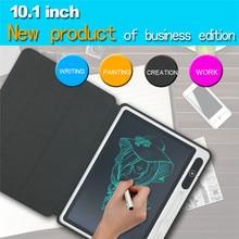 10,1 дюймовая умная деловая доска для письма, защитный чехол, ЖК-планшет для рисования, детская доска с ручной росписью для студентов
