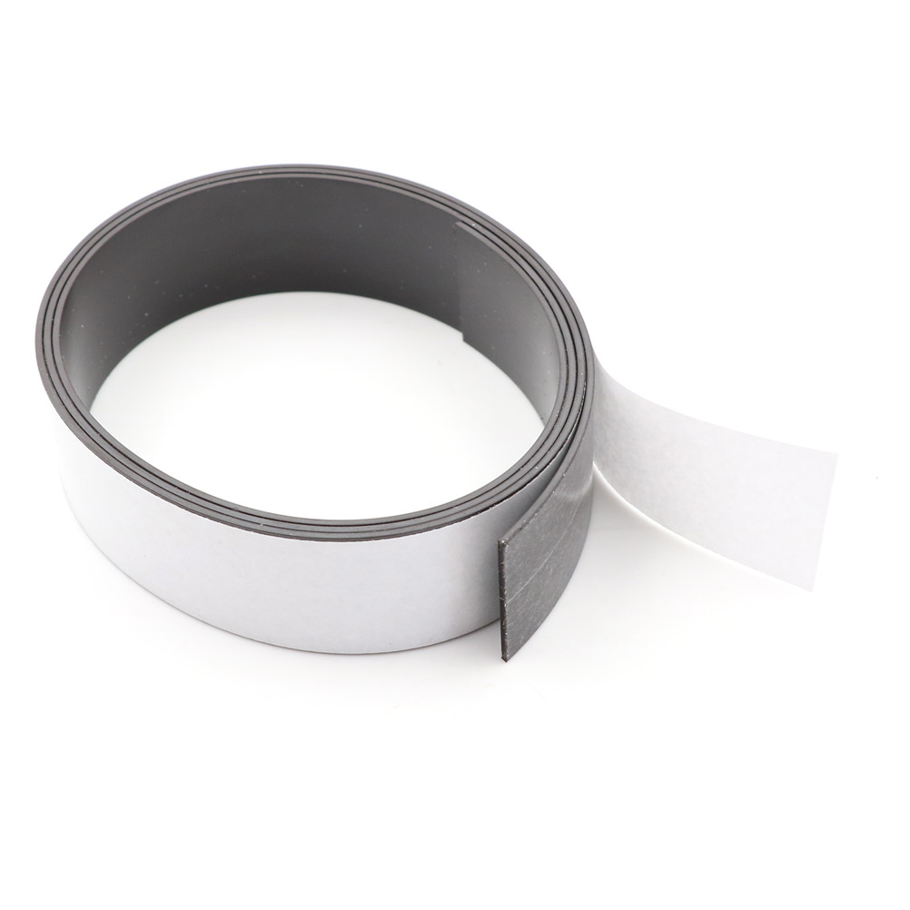 1PC 1 Meter Self Adhesive Flexible Magnetic Strip Rubber Magnet Tape Width 30mm Thickness 1.5mm craft flexible magnetic sheet tape 620mm width 0 5mm thickness magnets roll 1m roll magnetic car sign diy 930g meter