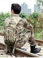 Camouflage Hydration Pack Multifunctional Outdoor Package Mountaineering Bags Military Tactical Backpack Cycling Rucksack