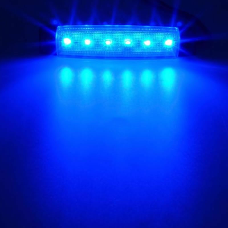 Waterproof Marine Led Light Courtesy Utility Strip for Boats 12 Volts Blue White Boat Interior Led Lights in LED Underwater Lights from Lights Lighting