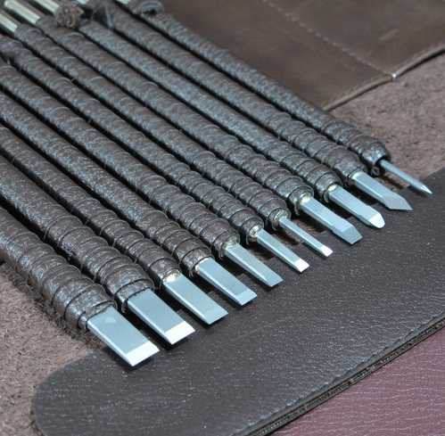 Pcs tungsten steel stone carving chisel tools set stone