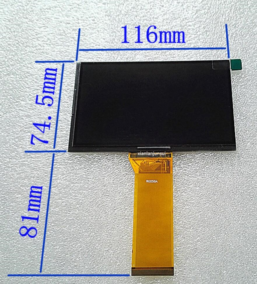 HD projector LCD screen diy projector accessories 5 inch projection screen RG050A