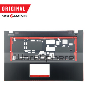 Image 4 - New Original LCD Rear Lid Back Cover for MSI GE70 307759A212A89 Top Cover Without Touchpad 307757C216Y31 Hinges MS 1759 MS 1756