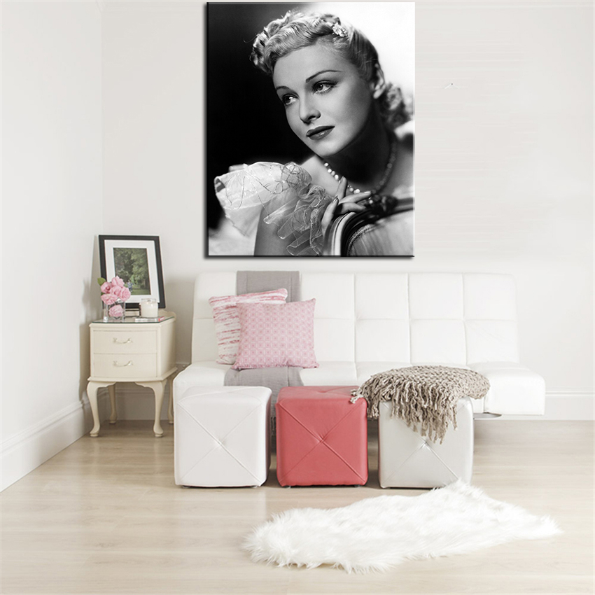 Madeleine Carroll Poster Wall Painting For Home Decor Oil