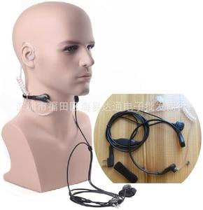 Best Vibration Throat Mic Walkie Talkie radio Microphone Headset For BAOFENG UV-5R GT-3 Wouxun kg-uv8d PPT Throat Microphone Ear
