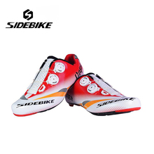 Sidebike Breathable Carbon Athletic Cycling Shoes Bike Bicycle Shoes Racing Road Shoes Zapatillas Zapato Ciclismo