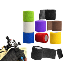 5pcs Disposable Self-adhesive Elastic Bandage for Handle Grip Tube Tattoo Accessories Mix Color