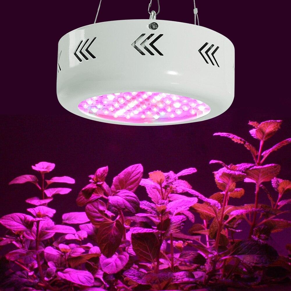 216W LED ufo grandir boîte lumière spectre complet AC85 ~ 265V pour plantes d'intérieur fleurs légumes système hyroponique et Aquarium plante lumière