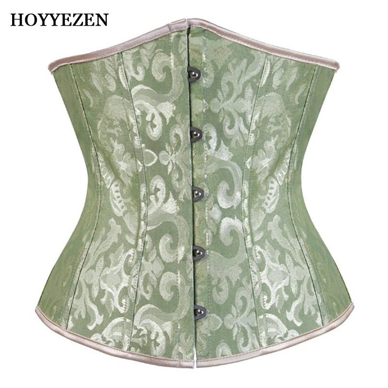 Hoyyezen new sexy court ladies abdomen waist mesh breathable clothing   corsets   and   bustiers     corsets   corselet burlesque corsages