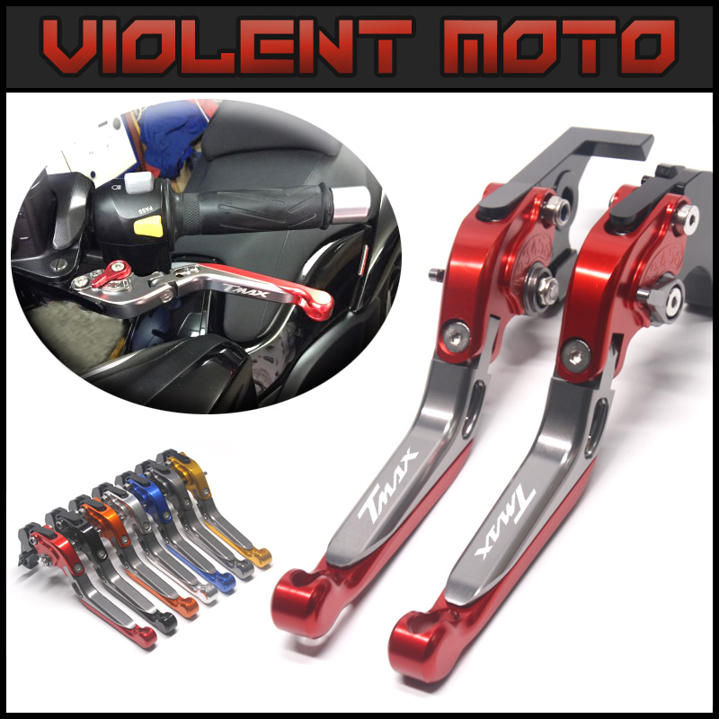 For YAMAHA TMAX 530 2012-2017 Motorcycle Accessories Short Brake Clutch Levers