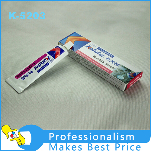 2PCS 80g Kafuter K-5203 Heatsink CPU Thermal Conductive Silicon Grease Paste Glue