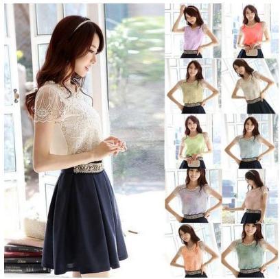 Sud-Coréen vêtements pour femmes mode bande mer âme arc à manches longues T-shirt
