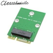Mini PCI-E 2 Lane M.2 NGFF 30 мм mSATA SSD до Половины Высоты Низкопрофильный Адаптер Добавить на Карты PCBA