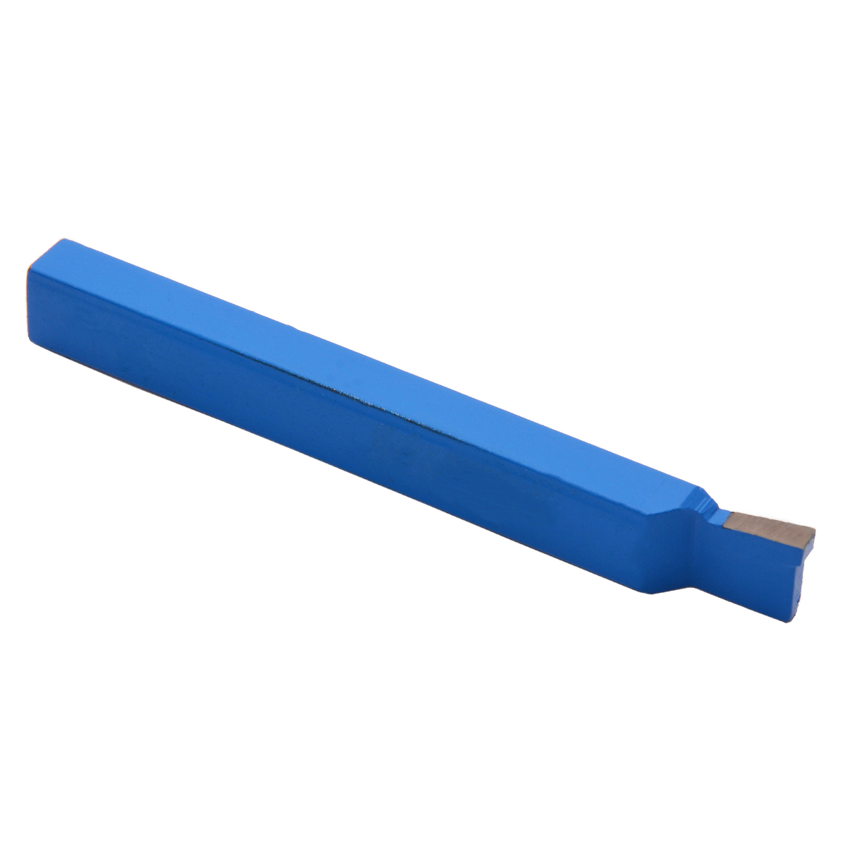 1Pcs Blue DIN4981 Carbide-Tipped Lathe Tool 12x8mm Grooving Cut-off Tools High Hardness Lathe Turning Tool