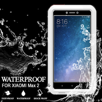 LOVE MEI Waterproof Case For Xiaomi Max 2 Original Shockproof Cover For Xiaomi Max 2 Case Aluminum Protection For Max 2 Case